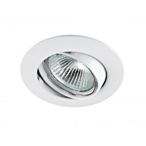 spot led fixe blanc /alu gu10 6w vision el complet