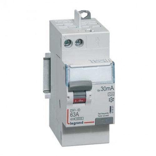 LEGRAND 411651 DX3 Interrupteur différentiel 63A 30mA type A auto 230V