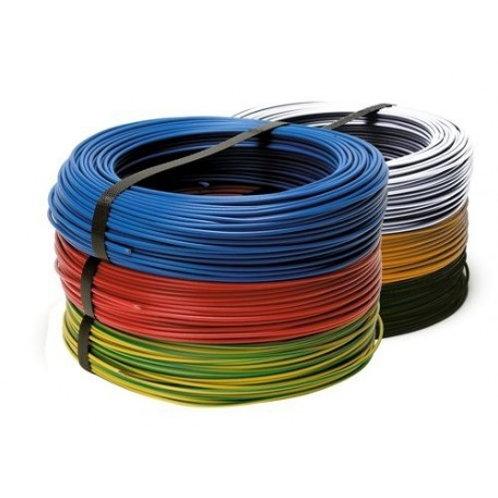 fil électrique  HO7V-U 1,5 mm2 couleur au choix C100m