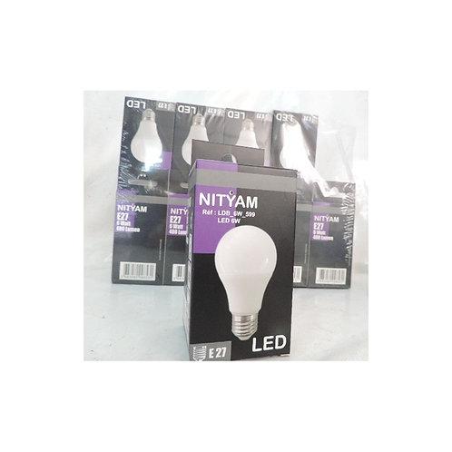 ampoule LED 12W blanc chaud 3000K 1050lm culot E27 230V