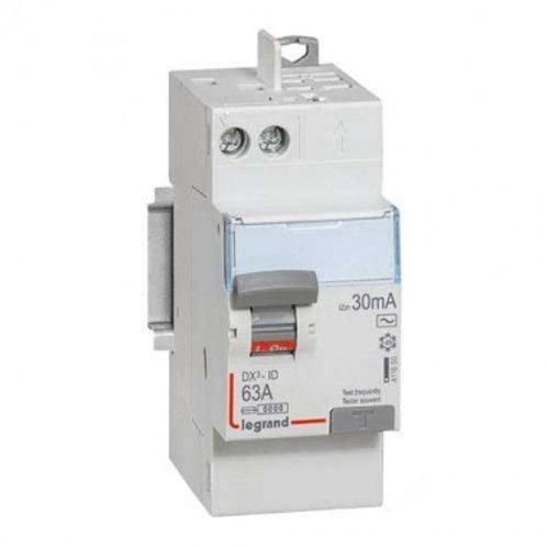 LEGRAND 411650 DX3 Interrupteur différentiel 63A 30mA type AC auto 230V