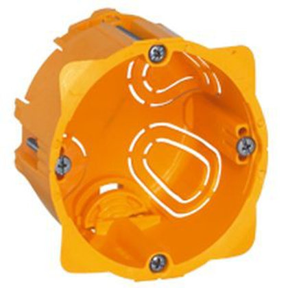 Legrand 080051 Boîte d'encastrement monoposte Batibox - Cloison sèche 50mm