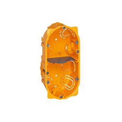 LEGRAND 080052 BOÎTE DOUBLE  BATIBOX  - PROF. 50 MM