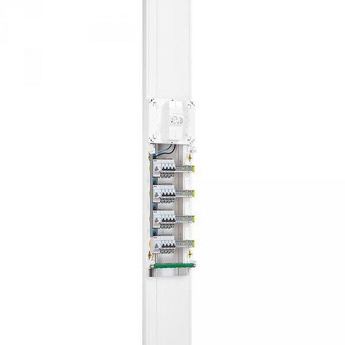 LEGRAND GOULOTTE GTL - 65X250 MM - AVEC COUVERCLE COMPLET - LONG RÉGLABLE