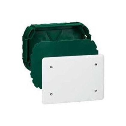 BOÎTE COMPLÈTE LEGRAND BATIBOX POUR DÉRIVATION - RECTANGULAIRE - 120X120X40 MM