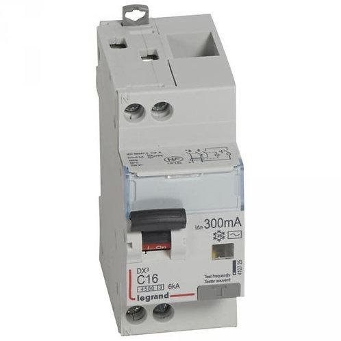LEGRAND 410725 DISJONCTEUR DIFFÉRENTIEL DX³ 230V~ 16A-TYPE AC-300MA-6KA