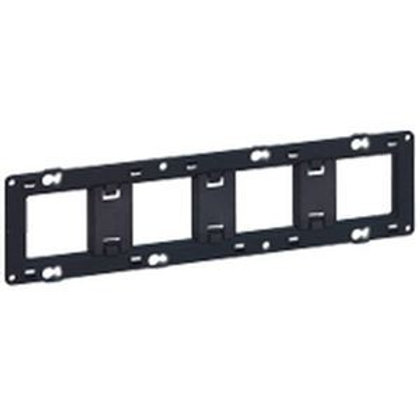 LEGRAND Batibox Support 4 postes pour fixation à vis - 080254
