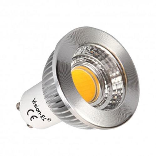 AMPOULE LED GU10 SPOT 5W DIMMABLE 4000°K ALUMINIUM 80°