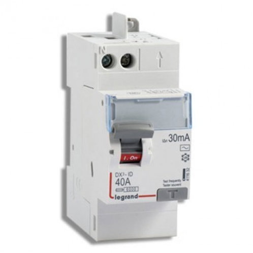 LEGRAND 411632 DX3 Interrupteur différentiel 40A 30mA type AC auto 230V -