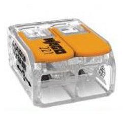 WAGO Mini-borne d'installation - 2x6mm2 souple /rigide par 50