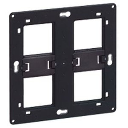 LEGRAND Batibox Support 2x2 postes pour fixation à vis - 080264