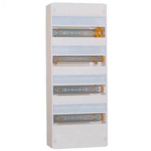 LEGRAND Drivia Tableau électrique nu 4 rangées 13 modules - 401214