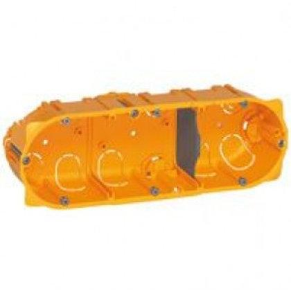 LEGRAND 080043 BOÎTE TRIPLE  BATIBOX  - PROF. 40 MM