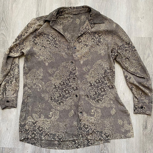 Vintage Oversized Blouse