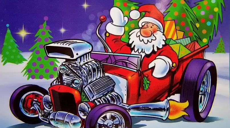 Merry Hot Rod Christmas