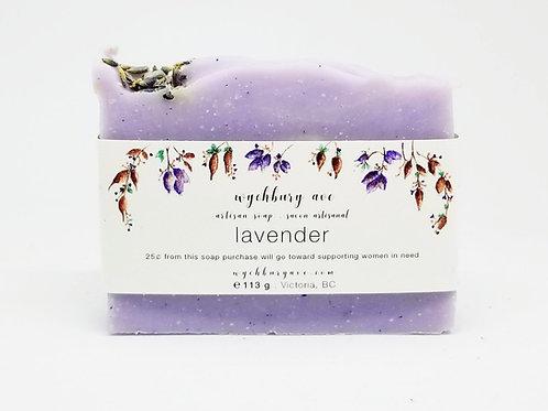 Palm-free Lavender Bar Soap
