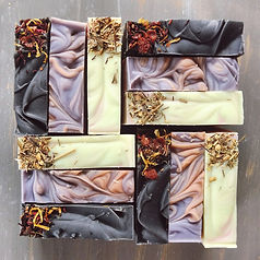 Palm oil-free handmade soap made in Victoria, BC, Canada