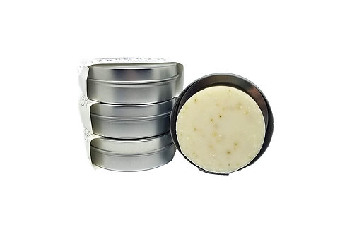 Nettle Rosemary natural shampoo bars with travel tin