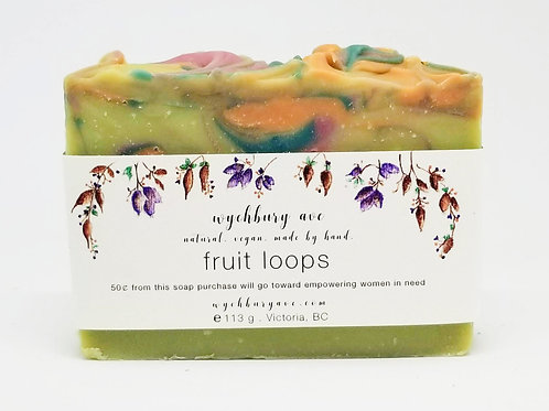 Fruit Loops Soap | Palm-free Handmade Soap