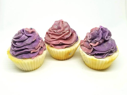 Pink Sugar Cupcake Soaps | Soap for Kids | Palm-free Soap for Kids