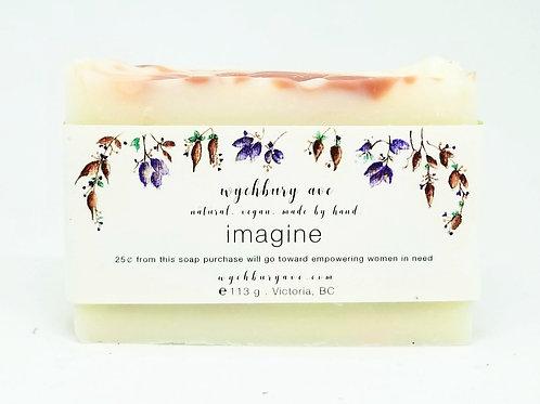 Imagine Sandalwood Natural Bar Soap