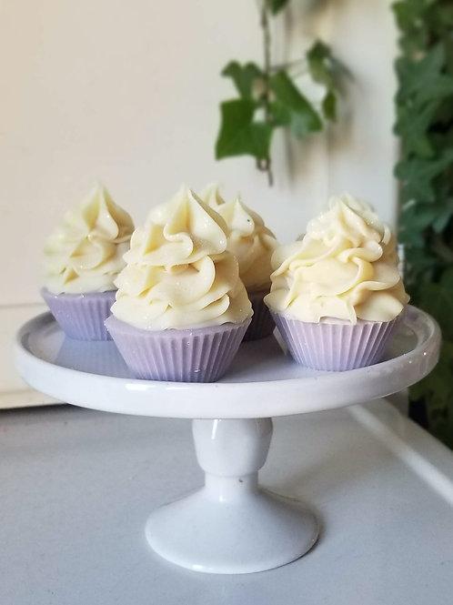 6-Pack of Mini Cupcake Soaps