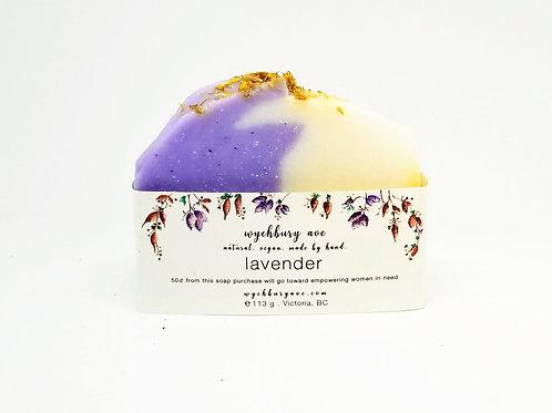 Lavender Bar Soap | Natural Lavender Bar Soap Made in Canada