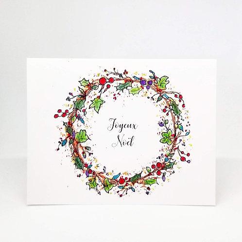 Joyeux Noël French Christmas Card