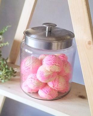 Satsuma Bubble Bath in Jar