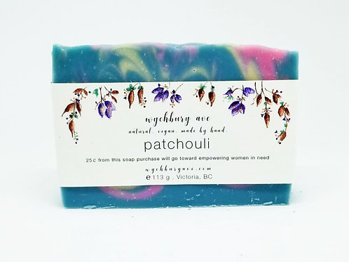 Patchouli Bar Soap Palm Oil-free  | Handmade Patchouli Soap