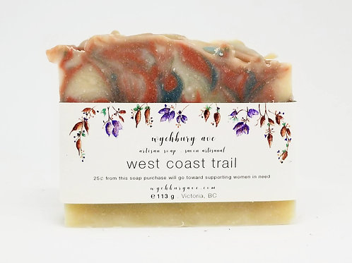 West Coast Trail Handmade Soap | Fresh Forest Soap | Palm Oil-free Soap