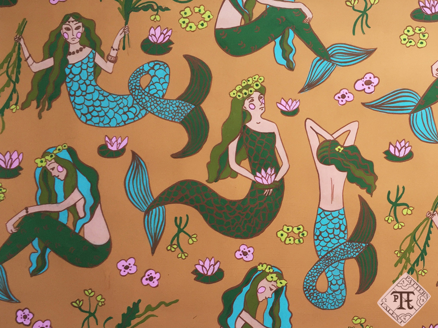 River Mermaids Pattern