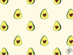 Hearty Avocado Half-drop