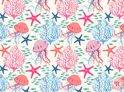 Coral and Jellyfish