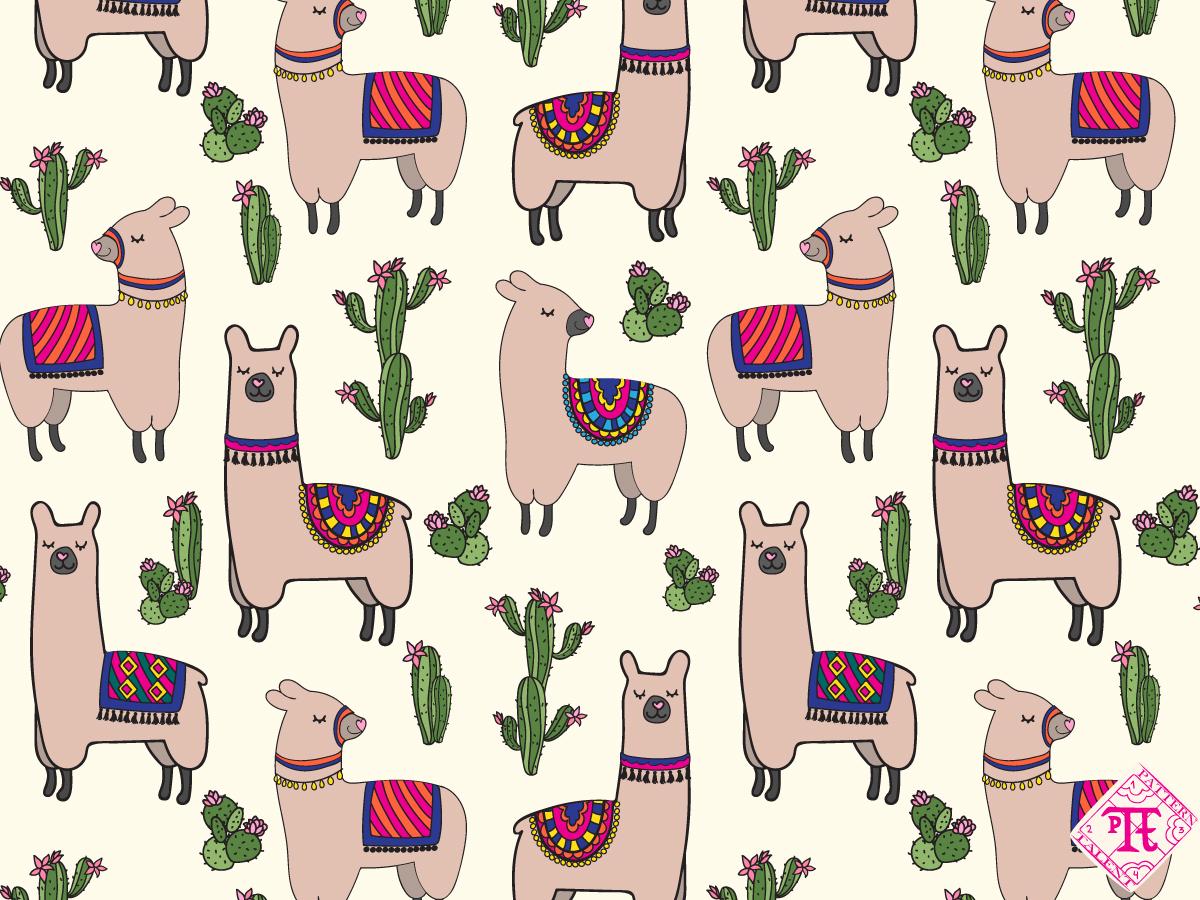 Happy Llamas