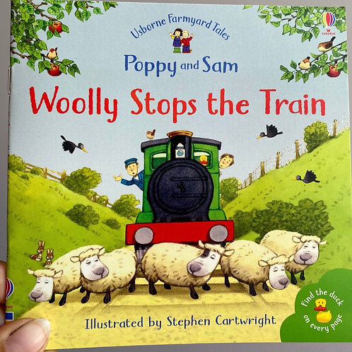 Wolly Stops the Train