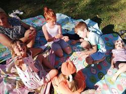 Po spacerze czas na piknik!