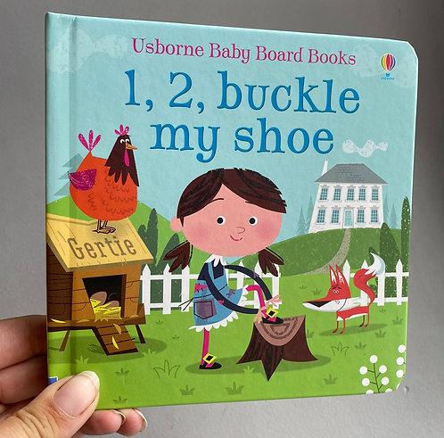 1,2 buckle my shoe