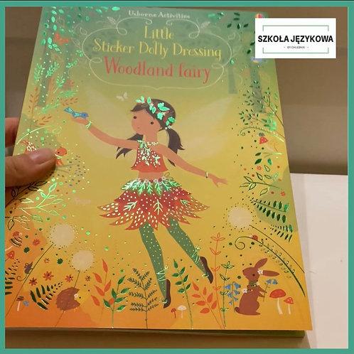 Little Sticker Dolly Dressing Woodland fairies