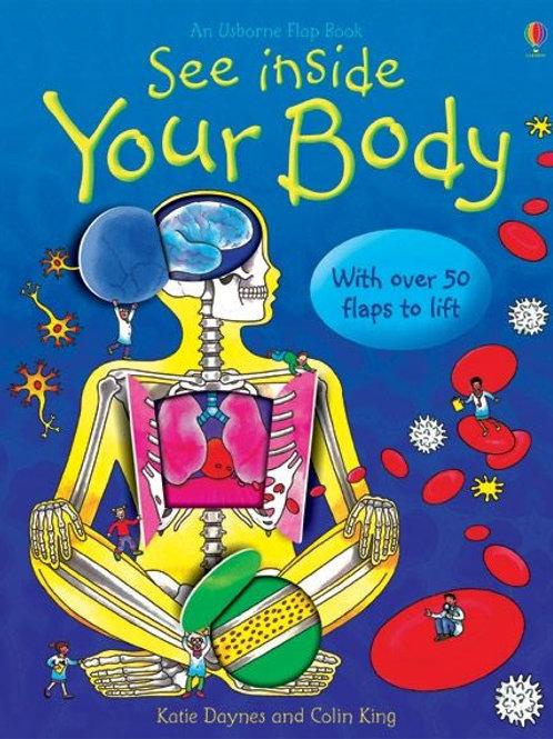 See Inside Your Body książeczka + ćwiczonka + memory