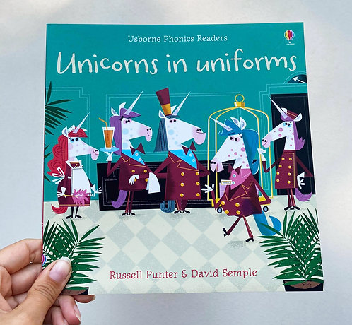 Unicorn in uniforms