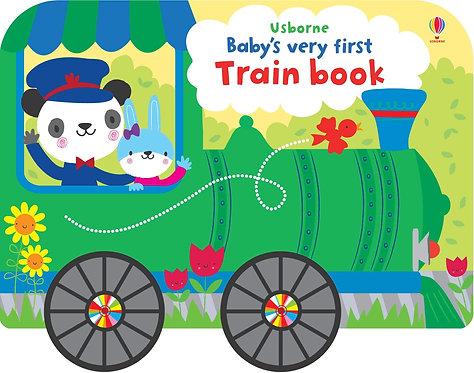 Baby's very first Train BOOK - książka sensoryczna
