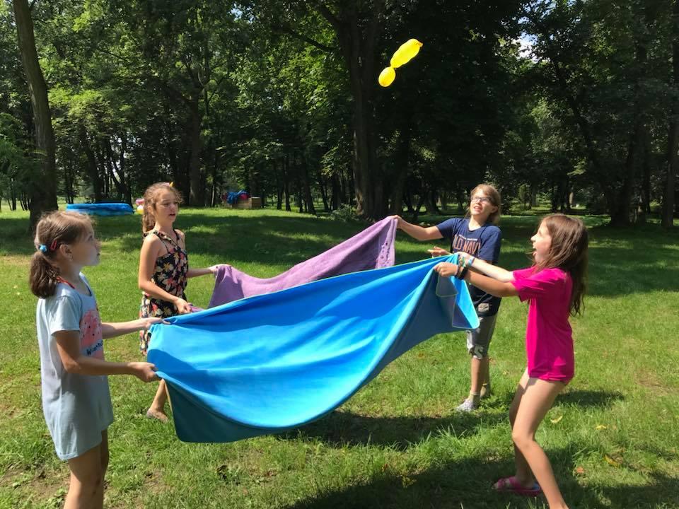 Zabawa z balonami!