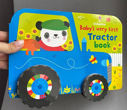 Baby's very first TRACTOR BOOK - książka sensoryczna