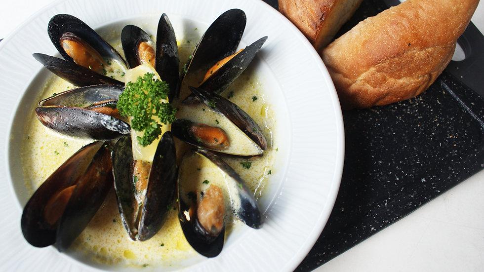 Mussels & Cream