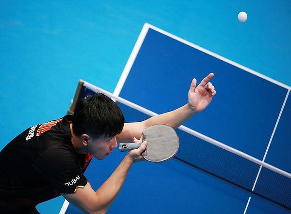 Table tennis hobby