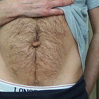 Navel fluff collection.jpg