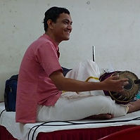 Mridangam playing.jpg