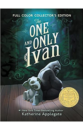 The One and Only Ivan by Katherine Applegate.