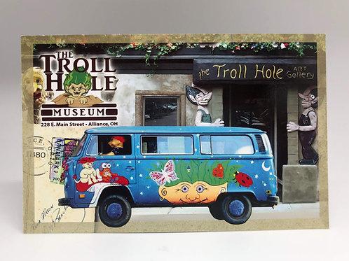 Troll Hole Postcard